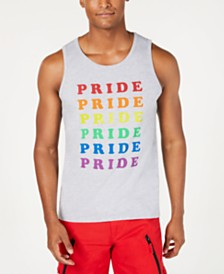 I.N.C. Unisex Rainbow Pride Graphic Tank, Benefitting the Trevor Project
