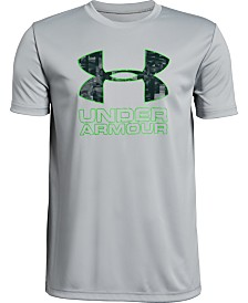 Under Armour Boys' Print Fill Logo T-Shirt