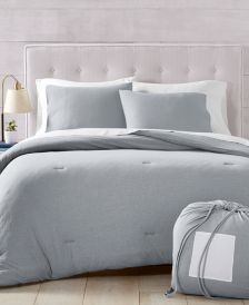 Martha Stewart Collection Essentials Jersey 4-Pc. Full/Queen Comforter Set, Created for Macy's