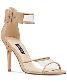 Mila Vinyl Dress Sandals