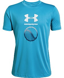 Under Armour Big Boys Baseball Icon Graphic T-Shirt