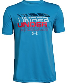Under Armour Big Boys Word Mark Logo Graphic