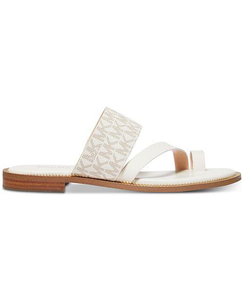 f9dbab2fdc19 Michael Kors Pratt Flat Sandals   Reviews - Sandals   Flip Flops ...