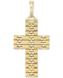 14k Gold Cross - Macy's