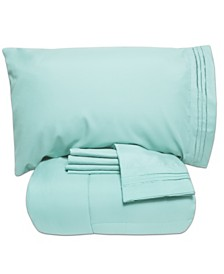 Sweet Home Collection Twin 4-Pc Comforter and Sheet Set