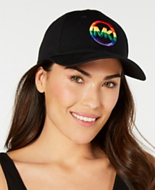MICHAEL Michael Kors Rainbow Logo Baseball Cap