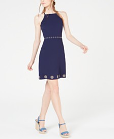 Michael Michael Kors Studded Dress, Regular & Petite