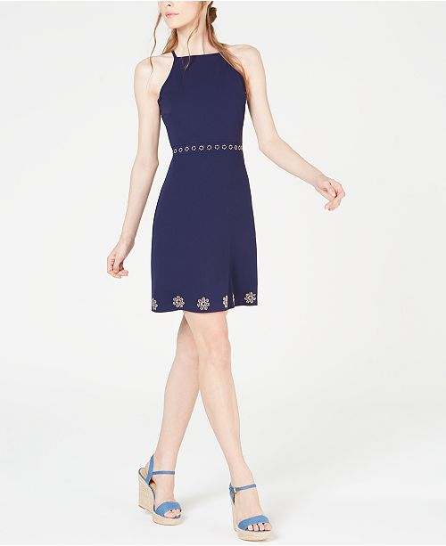 Michael Kors Studded Dress, Regular & Petite
