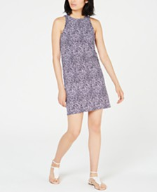 MICHAEL Michael Kors Printed Mini Dress, In Regular and Petite