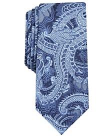 I.N.C. Men's Tattoo Art Skinny Tie, Created for Macy's