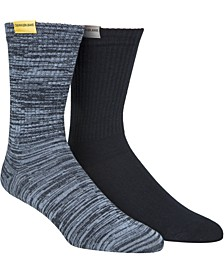 Men's 2-Pk. Crew Socks
