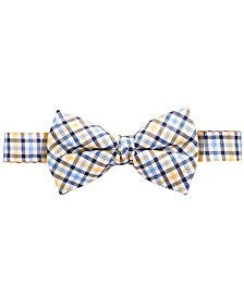 Big Boys Gingham Silk Bowtie