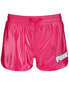 Puma Big Girls Dazzle Fashion Shorts