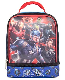 Bioworld Little & Big Boys Avengers Graphic Dual Lunch Kit
