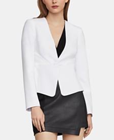 BCBGMAXAZRIA Twist-Front Jacket
