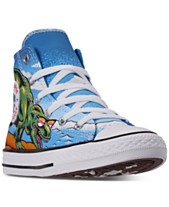 fa57cfff914e Converse Little Boys  Chuck Taylor All Star High-Top Casual Sneakers from  Finish Line