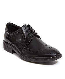 a257580c837 Deer Stags Men s Taro Memory Foam Stylish Dress Comfort Classic Wingtip  Oxford