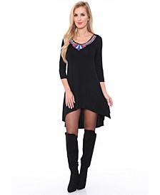 Women's Sol Embellished Tunic top