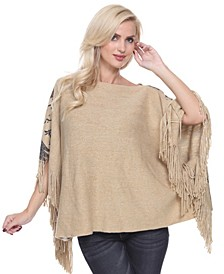 Women's Eagle Wings Poncho
