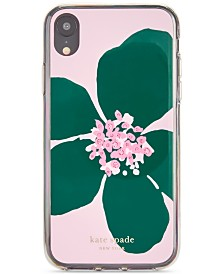 kate spade new york Jeweled Grand Flora iPhone XR Case