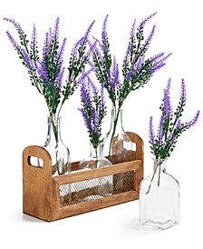 CLOSEOUT! La Dolce Vita Lavender Artificial Tablescape