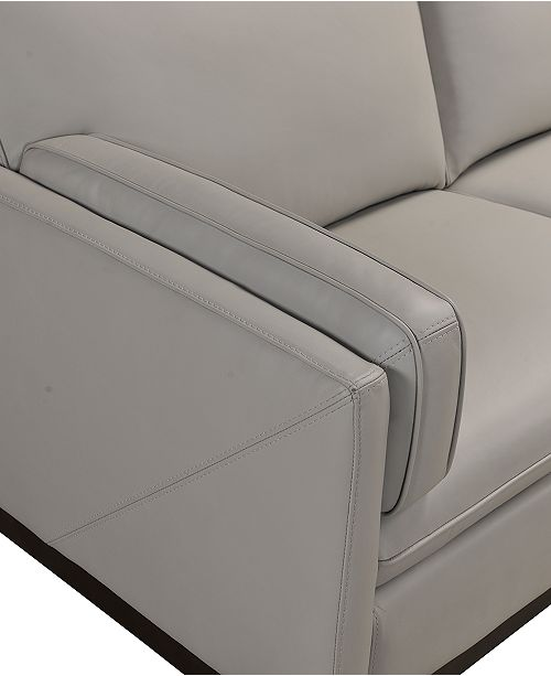 Miraculous Virton 2 Pc Leather Chaise Sectional Sofa Created For Macys Ibusinesslaw Wood Chair Design Ideas Ibusinesslaworg