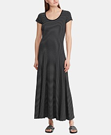 Lauren Ralph Lauren Petite Stretch Knit Maxidress