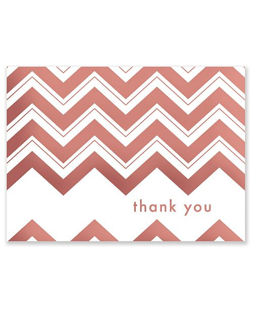 Masterpiece Cards Chevron Thank You Note Boxed Cards