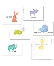 Adorable Animals Note Cards Assortment