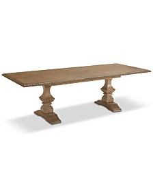 Jasper County Stately Brown Rectangular Dining Table