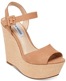 Citrus Platform Wedge Sandals