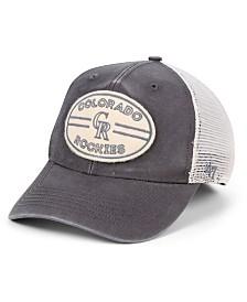 '47 Brand Colorado Rockies Hudson Patch Trucker MVP Cap