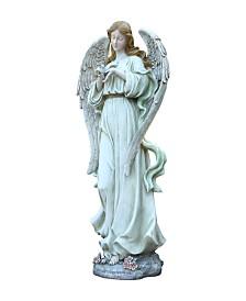 Napco Angel w/Bird Figurine