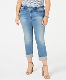 Lucky Brand Plus Size Emma Capri Jeans