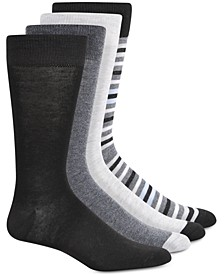 Men's 4-Pk. Crew Socks