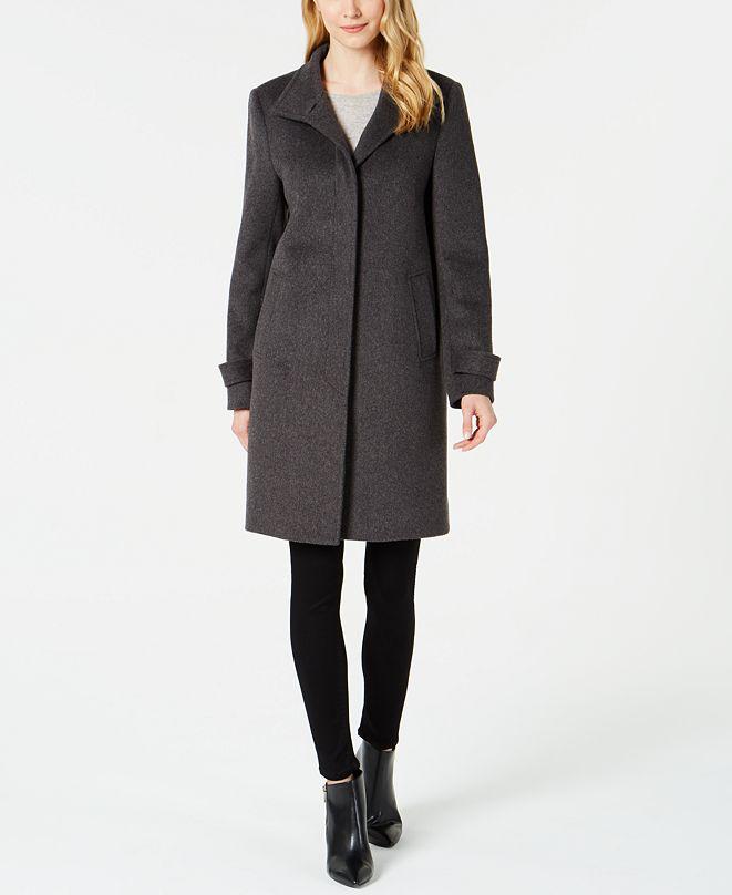 Jones New York Single-Breasted Coat