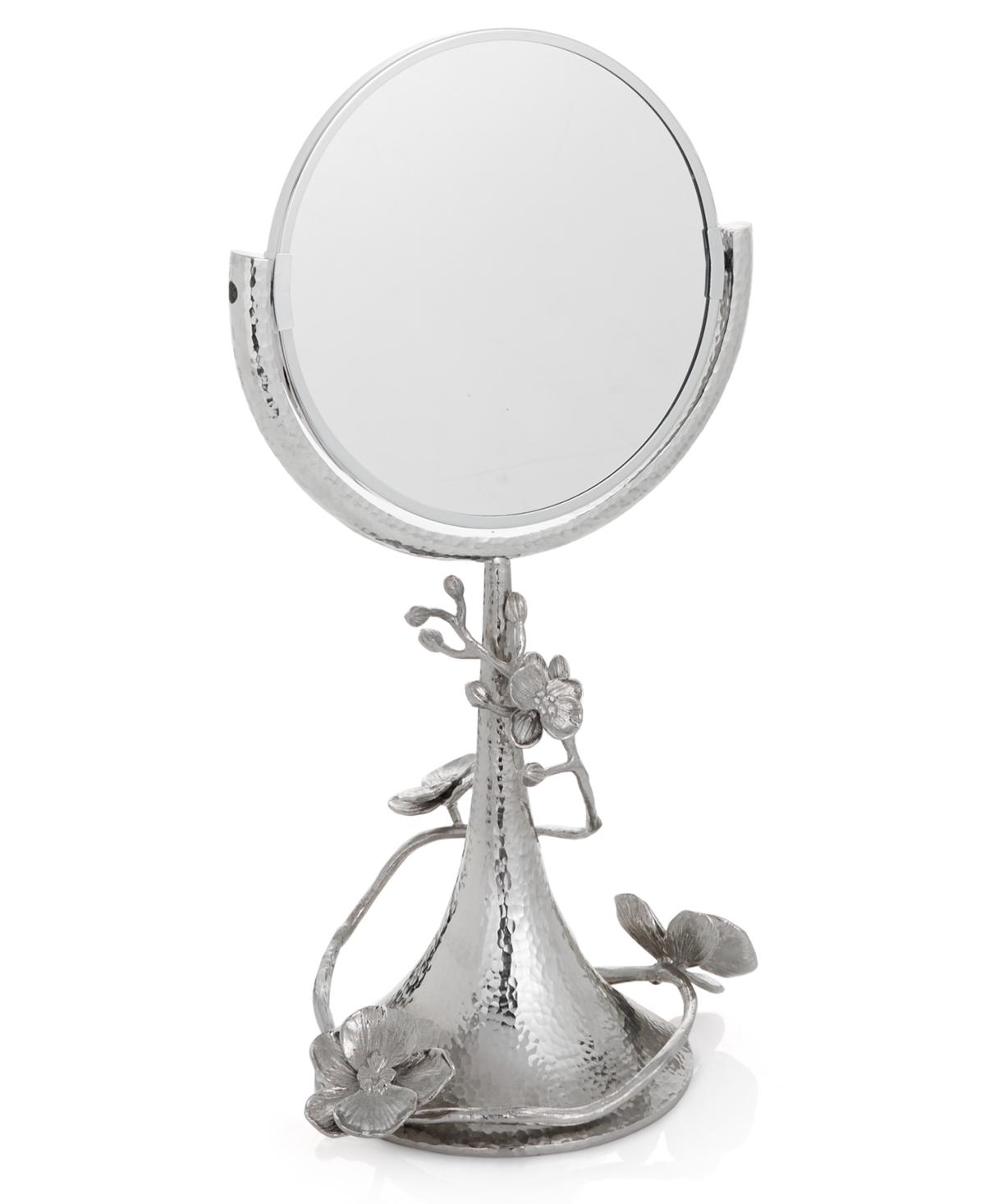 Michael Aram White Orchid Vanity Mirror