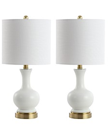 """Cox 22"""" LED Table Lamp - Set of 2"""