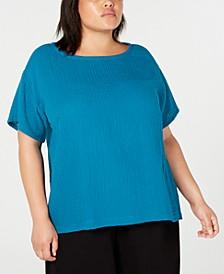 Plus Size Organic Cotton Shirt