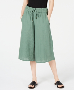 Eileen Fisher Pants DRAWSTRING PULL-ON CROPPED PANTS