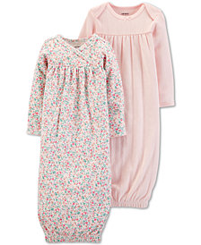 Carter's Baby Girls 2-Pack Sleep Gowns