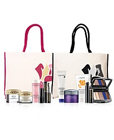 Choose Your FREE 7-Piece Gift with any $37.50 Lancôme Purchase!