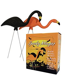 "Spooky Flamingo 25"" Halloween Yard Decor, 2 Pack"