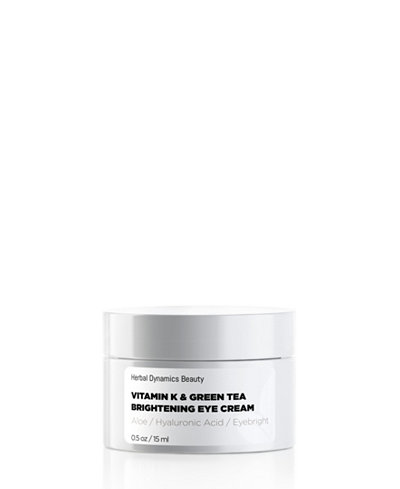 Herbal Dynamics Beauty Vitamin K and Green Tea Brightening Eye Cream