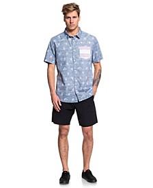 Men's 4th July Button Down Shirt