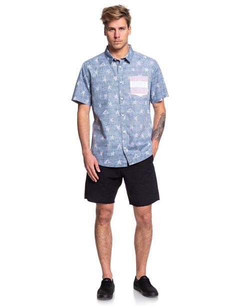 Quiksilver Men's 4th July Button Down Shirt