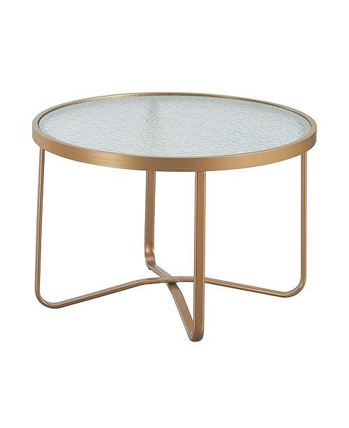 Elle Decor Mirabelle Outdoor Coffee Table, Quick Ship