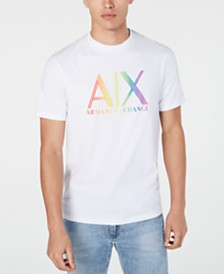 A|X Armani Exchange Men's Pride Logo Graphic T-Shirt  Created For Macy's