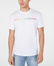 Men's Pride Logo Graphic T-Shirt Created For Macy's
