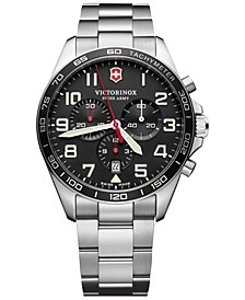 Men's Chronograph FieldForce Stainless Steel Bracelet Watch 42mm
